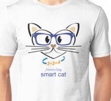 HeartKitty Smart Cat Unisex T-Shirt