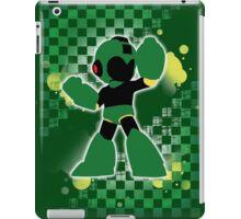 Super Smash Bros. Green Mega Man Silhouette iPad Case/Skin