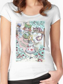 Alice & The Pig Baby Women's Fitted Scoop T-Shirt