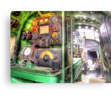 Lancaster Interior - HDR Metal Print