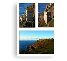 An Evening At Botallack Crowns Canvas Print