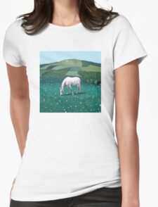 The White Horse of Alfriston Womens Fitted T-Shirt