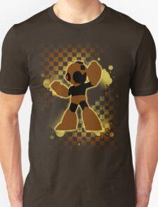 Super Smash Bros. Brown/Yellow Mega Man Silhouette T-Shirt