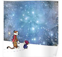 Calvin and Hobbes WInter Poster