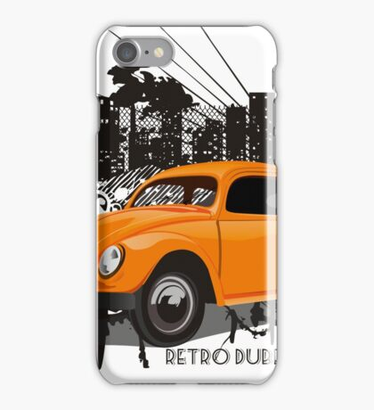 Urban Bug - Retro Dubbers iPhone Case/Skin