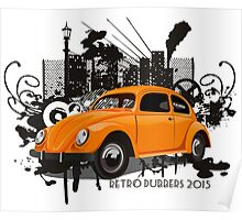 Urban Bug - Retro Dubbers Poster