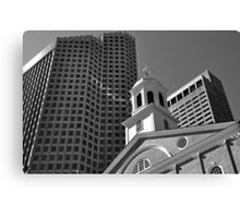 City of Boston Series,,,,,The Old and The New  Canvas Print