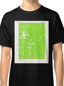 USGS Topo Map Oregon Moffitt Butte 280772 1963 24000 Classic T-Shirt