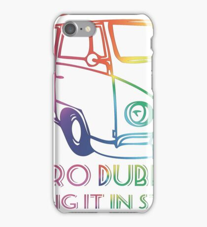 Doing it in style - Retro Dubbers iPhone Case/Skin