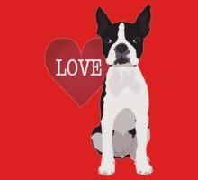 I love Boston Terriers Kids Tee