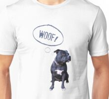 I love Staffies Unisex T-Shirt