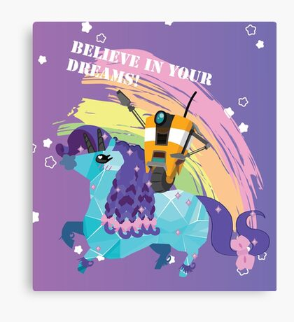 BELIEVE IN YOUR DREAMS! Canvas Print