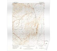 USGS Topo Map Nevada Jordan Meadow 321023 1959 62500 Poster