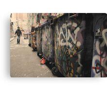 Urban Grunge - Melbourne Canvas Print