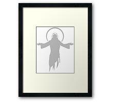 DJ Jesus Framed Print