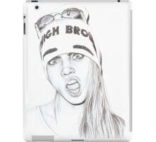 High Brow- Cara Delevingne iPad Case/Skin