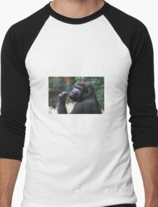 Gorilla Men's Baseball ¾ T-Shirt