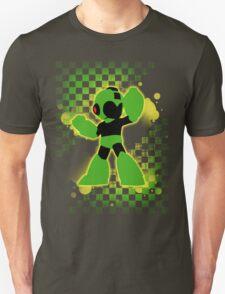 Super Smash Bros. Green/Yellow Mega Man Silhouette T-Shirt