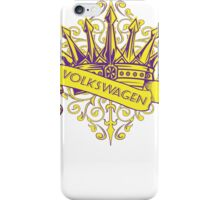 VW Crown - Retro Dubbers iPhone Case/Skin