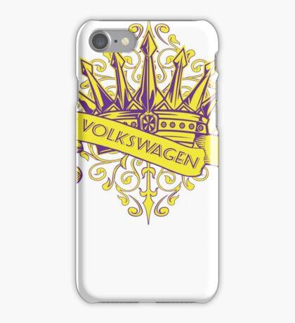 VW Crown - Retro Dubbers iPhone Case/Skin