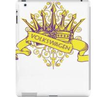 VW Crown - Retro Dubbers iPad Case/Skin