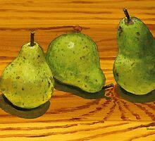 Three of a kind beats a pear? by bernzweig