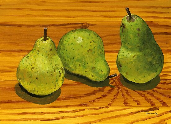 Three of a kind beats a pear? by bernzweig