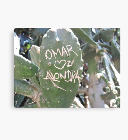 Omar and Alondra Forever Metal Print
