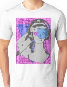 Pop girl goes to geometry class  Unisex T-Shirt
