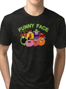 Funny Face Tri-blend T-Shirt