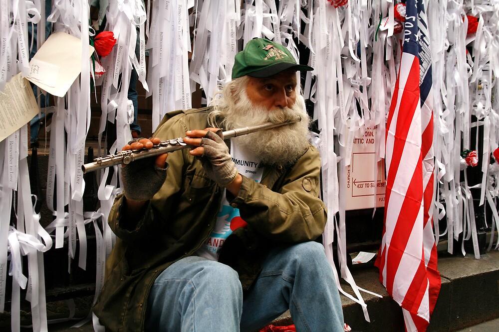 Ground Zero 5093 New York by Mart Delvalle