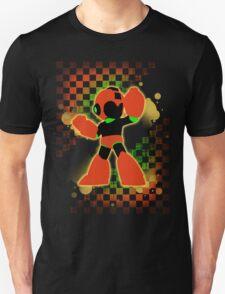 Super Smash Bros. Orange Mega Man Silhouette Unisex T-Shirt