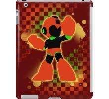 Super Smash Bros. Orange Mega Man Silhouette iPad Case/Skin