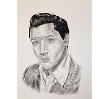 Elvis Presley in pencil Photographic Print