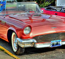 1957 Thunderbird-front side view by henuly1