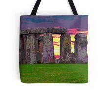 Stonehenge Sunset Tote Bag