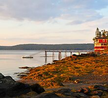 At the End of The Road, Deer Isle, Maine by fauselr