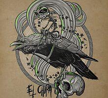 EL CHUPA CROWRIDER by backyardgraffix