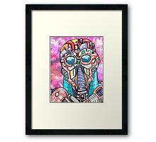 Bot Game Framed Print