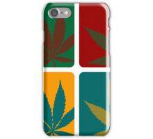 Cannabis Leaf Warhol iPhone Case/Skin