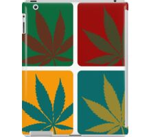 Cannabis Leaf Warhol iPad Case/Skin