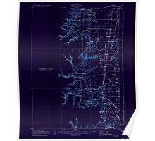 USGS Topo Map Oregon Monroe 282724 1922 62500 Inverted Poster