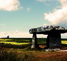 Lanyon Quoit And Ding Dong Mine by Terri Waters