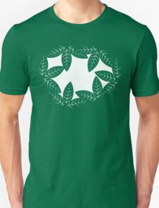Leaves hole in the jungle Unisex T-Shirt