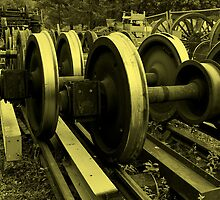 Wheels in no motion by moor2sea