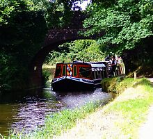 Barge Grand Western Canal by EventPhotos
