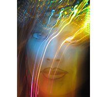 Electric Rain Shaman Photographic Print