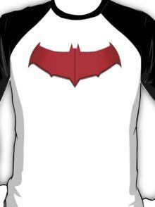 Red Hood Bat Symbol T-Shirt