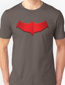 Red Hood Bat Symbol T-Shirt