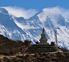 Sherpa Tenzing Norgay Memorial Chorten. by RobertCave